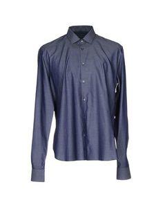 Джинсовая рубашка John Varvatos