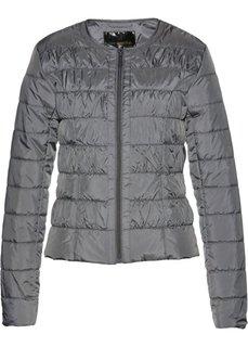 Стеганая куртка (дымчато-серый) Bonprix