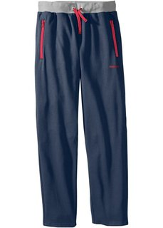 Мужские трикотажные брюки (антрацитовый меланж) Bonprix