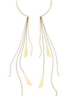 Колье с длинными цепочками (золотистый) Bonprix
