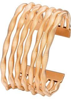 Браслет в форме спирали (золотистый) Bonprix