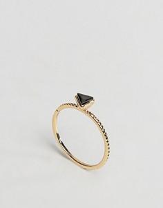 Кольцо на мизинец с треугольником ASOS - Золотой