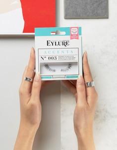 Накладные ресницы Eylure Accents 3/4 - No. 003 - Черный