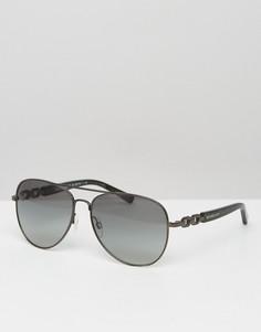 Солнцезащитные очки-авиаторы Michael Kors - Серый