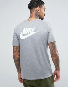 Серая футболка Nike 834735-091 - Серый