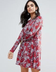 Свободное платье Glamorous - Красный