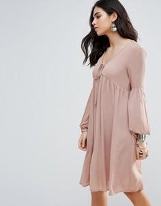 Свободное платье Glamorous - Коричневый