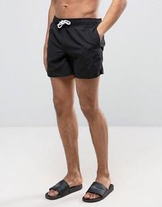 Черные шорты для плавания New Look - Черный