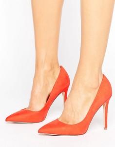 Туфли-лодочки с острым носком Faith Chloe - Оранжевый