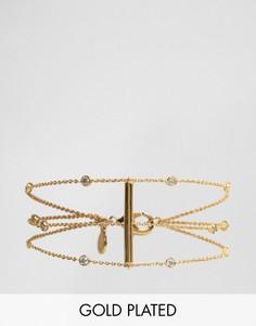 Позолоченный браслет Gorjana - Золотой