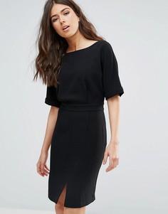 Приталенное платье Only Studio Ariana - Черный