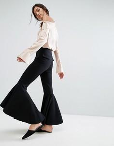 Расклешенные брюки Style Mafia - Черный