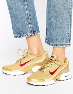 Золотистые кроссовки Nike Air Max - Золотой