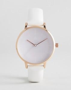 Часы с сиреневым циферблатом ASOS - Фиолетовый