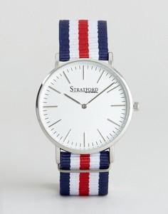 Наручные часы с парусиновым ремешком Stratford - Мульти