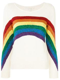 свитер с радугой Marc Jacobs