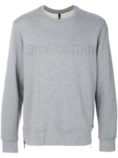 logo embossed sweatshirt Neil Barrett