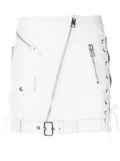 off-center zip fastening skirt Manokhi
