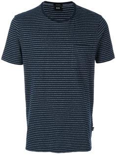 футболка в полоску Boss Hugo Boss