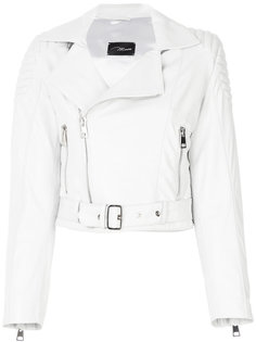 cropped leather jacket Manokhi