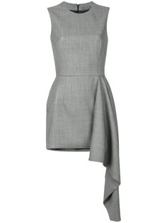 asymmetric mini dress Alexander McQueen