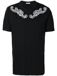 футболка с принтом арабеск Versace Collection