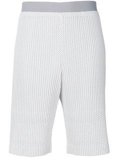 шорты с вышивкой  Homme Plissé Issey Miyake