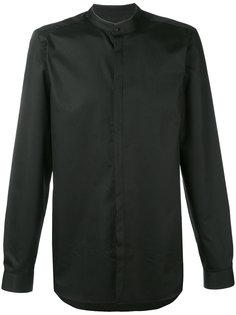 рубашка с воротником-стойкой Calvin Klein