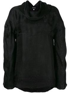 cowl neck blouse Giorgio Armani Vintage