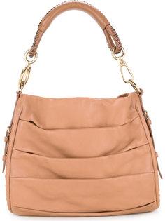 сумка на плечо с драпировкой  Christian Dior Vintage