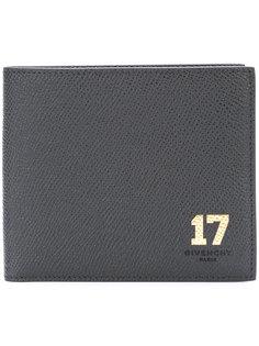 кошелек со вставкой-номером  Givenchy