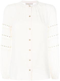 рубашка с кружевными полосками и заклепками Michael Michael Kors