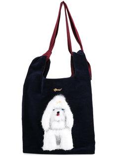 dog embellished shoulder bag Muveil