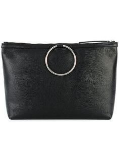 сумка-тоут с металлической ручкой Kara
