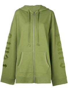 harness zipped hoodie Puma
