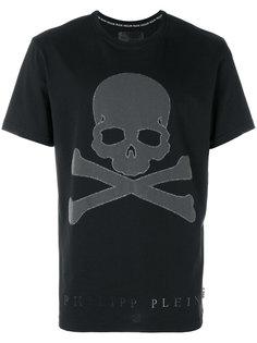 футболка с принтом черепа и перекрещенных костей Philipp Plein