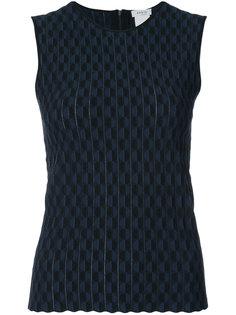 приталенная блузка с узором  Akris Punto