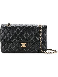 стеганая сумка на плечо с двойным клапаном  Chanel Vintage