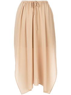 юбка-миди на шнурке Agnona