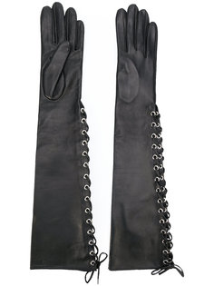 long lace-up gloves Manokhi