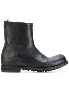 ботинки с декоративной молнией Officine Creative