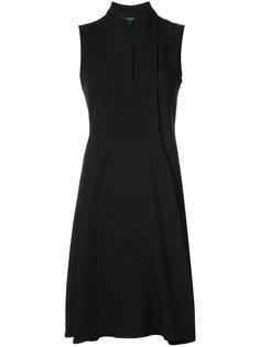 платье-шифт с V-образным вырезом  Derek Lam