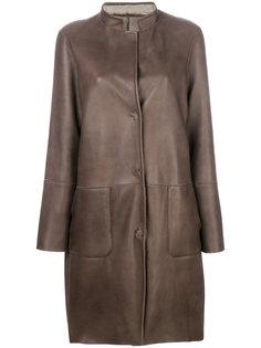 panelled coat Manzoni 24