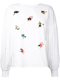 sequin embellished blouse  Muveil