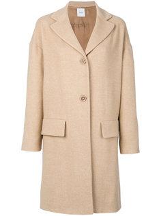 пальто с карманами с клапанами Agnona