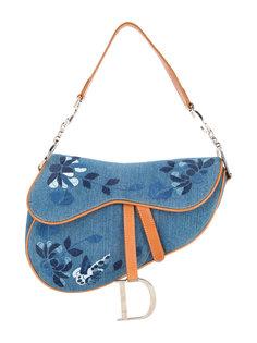 сумка на плечо с вышивкой  Christian Dior Vintage