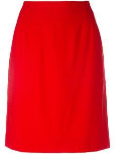 A-line skirt Claude Montana Vintage