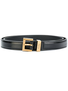 ремень с пряжкой Monogram Passant Saint Laurent