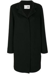 пальто с зазубренными лацканами Manzoni 24