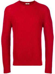 трикотажный свитер ребристой вязки Valentino